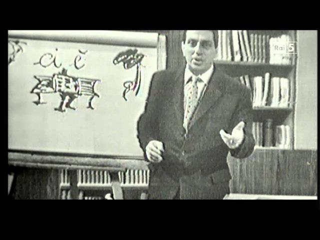Alberto Manzi - Non è mai troppo tardi - 24 febbraio 1961