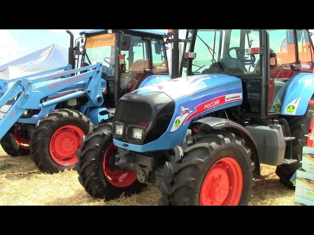 Трактор АГРОМАШ 85ТК - НОВИНКА Российского тракторостроения Обзор 2017