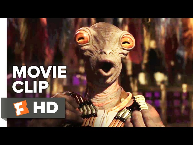 Valerian and the City of a Thousand Planets Movie Clip Boulan Bathor Couturier 2017