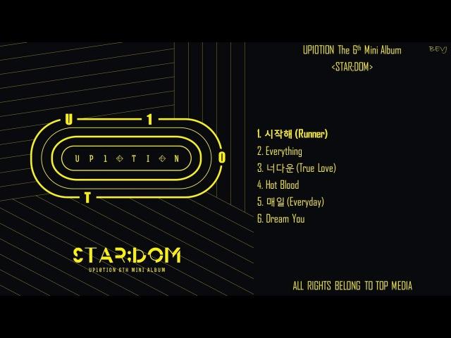 [Full Album] UP10TION (업텐션) - STAR;DOM (The 6th Mini Album)