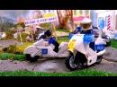 Машина мультик лего видео для детей про машинки полицейская гоночная машина му