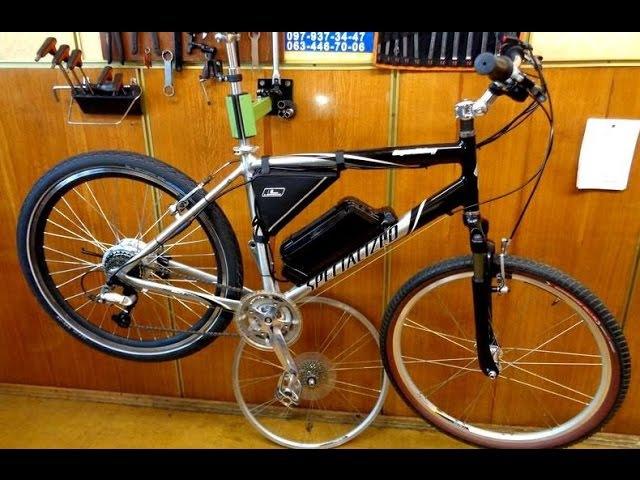 Переоборудуем велосипед Specialized в Электровелосипед Мотор колесо 350 Ватт