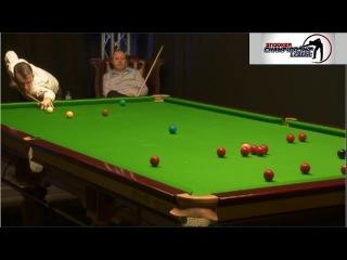 John Higgins v Mark Davis Championship League 2017 Winners' Group