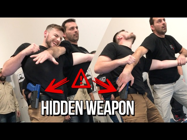 WARNING ALWAYS STAY VIGILANT OF HIDDEN WEAPONS FRED MASTRO