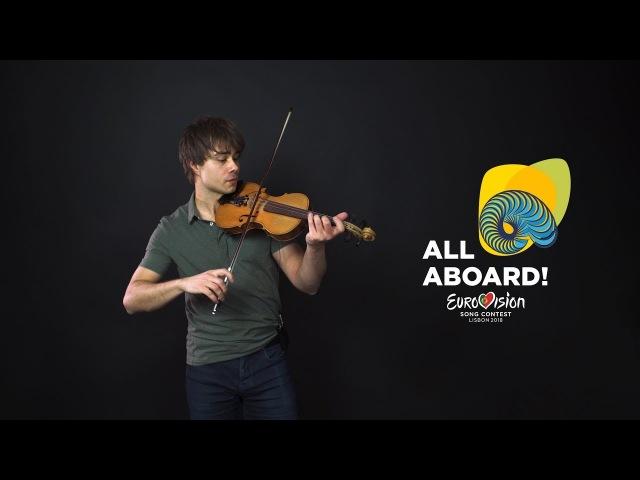 Alexander Rybak - Melodi Grand Prix 2018 - All Contestants (Violin Jam)