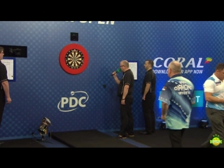 Ian White vs Gerwyn Price (Coral UK Open 2017 / Quarter Final)