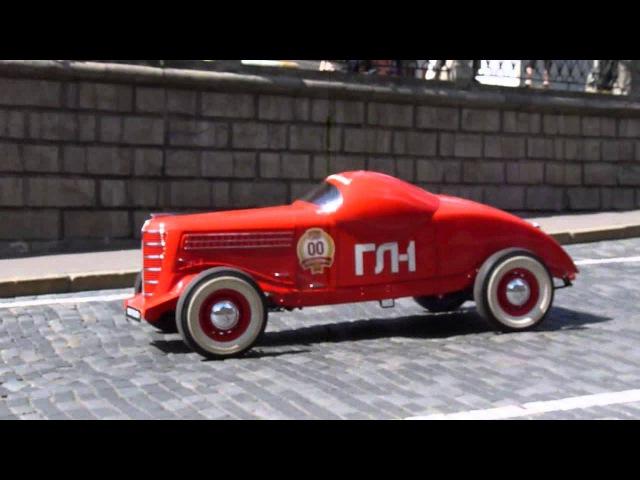 Советский гоночный автомобиль ГАЗ-ГЛ-1 НА ХОДУ / GAZ-GL-1 on the go