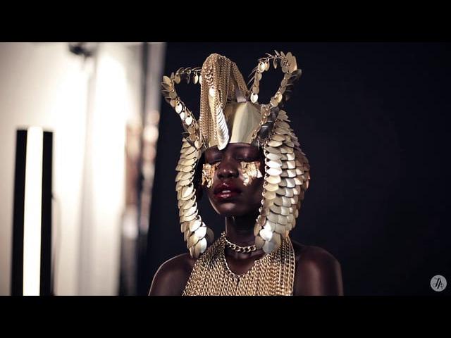 Golden Goddess Editorial for Idol Magazine