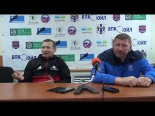 Пресс-конференция О.Чубинского и А.Бегунова