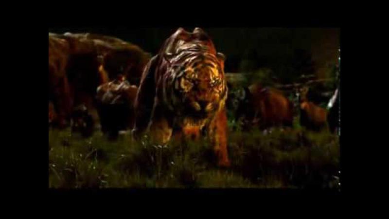 The Jungle Book 2016 Shere Khan VS Baloo Clip in HD