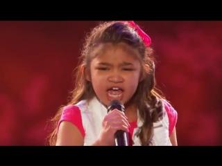 Девочка с голосом потрясающей красоты