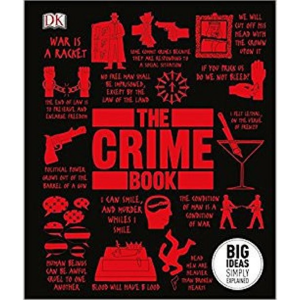 Big Ideas Simply Explained - The Crime Book