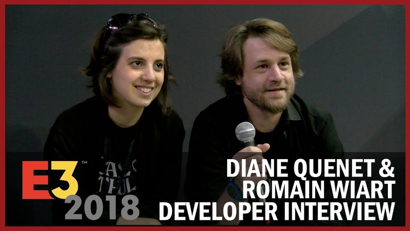 Diane Quenet Romain Wiart from Cyanide Studio Share Insights on Being Indie - USC at E3 2018