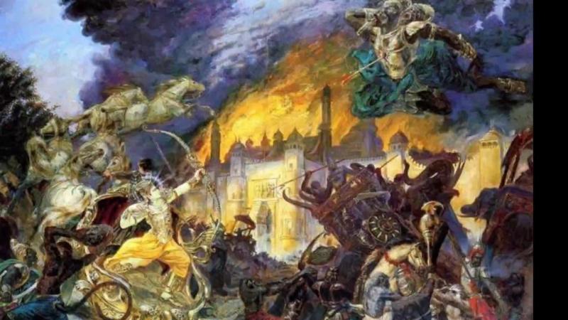 Чтение Рамаяны История Вальмики и Вишвамитры