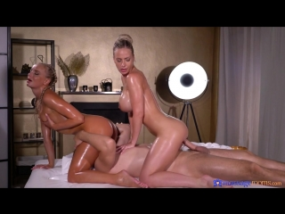 Nathaly Cherie and Victoria Pure - MassagеRooms [All Sex, Hardcore, Blowjob, Threesome, Oiled]