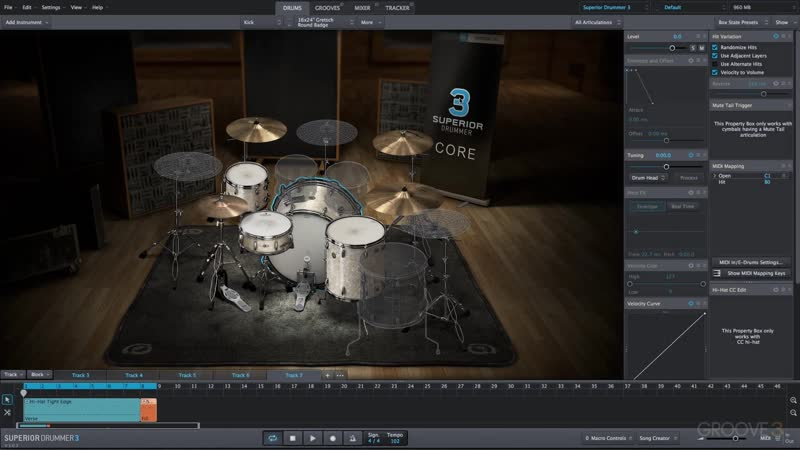 Groove3 Superior Drummer 3 Tips and Tricks Vol 2