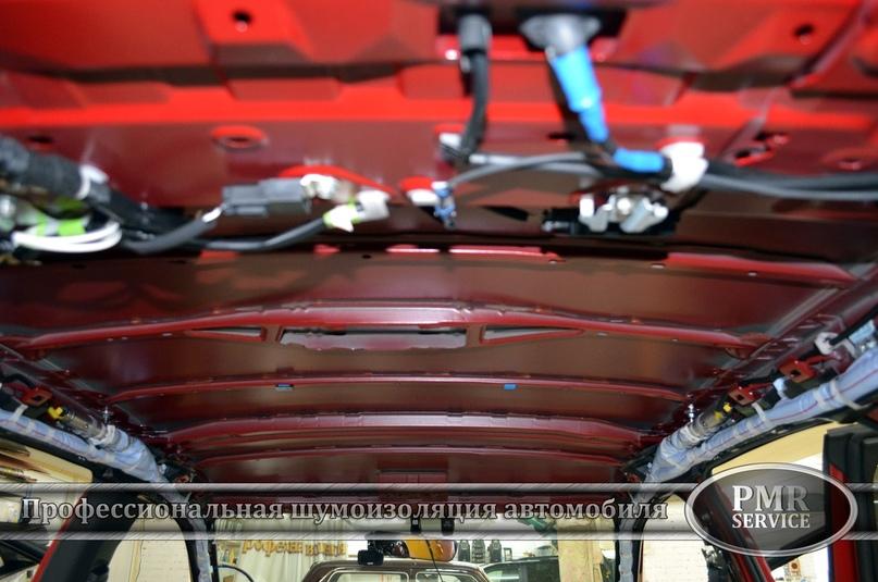 Комплексная шумоизоляция Lexus RX, изображение №6