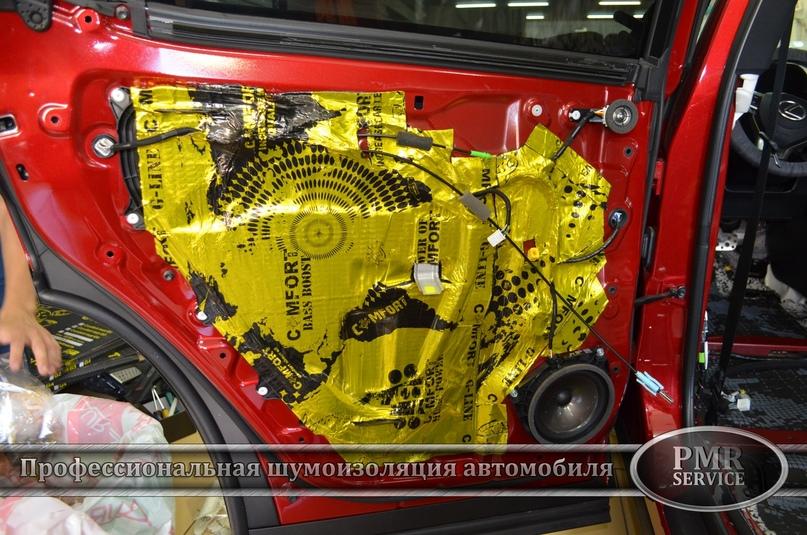 Комплексная шумоизоляция Lexus RX, изображение №17