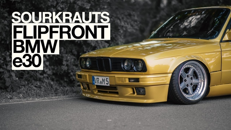 300ps BMW e30 mit Flipfront und HLS Fahrwerk ( engl. Subtitles )