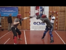 Russia Moscow Cup FSMB 2012 bakler and sword 3 fight баклер Краснов Саблин