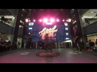 Миронова Катя vs Прокофьев Игорь   1/4 Dancehall Beginners  Good Foot Battle