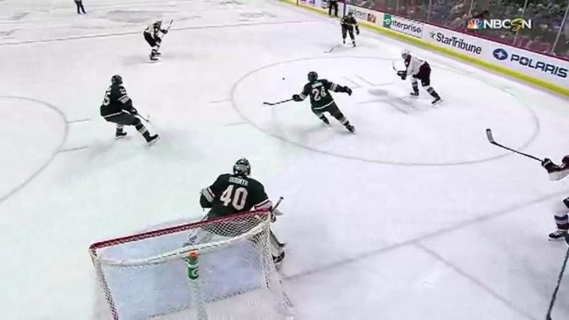 Колорадо Миннесота Обзор матча Хоккей НХЛ 14 марта