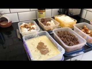 Пример правильного питания на день