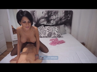Anisyia livejasmin stockings bodysuit extreme highheels riding huge cock порно  секс трах ебля