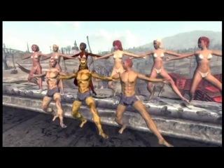 Пр.Лебединский + Fallout-3 - Я танцую. (Пародия на O-Zone) Pr. Lebedinsky - I'm dancing.