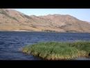 На волчьей територии Озеро Свежее утро сильный ветер