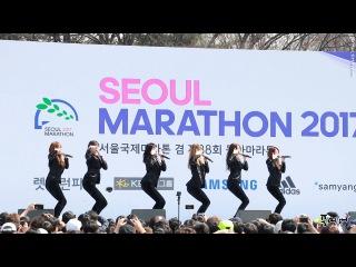 [Fancam] 170319 Hello Venus @ Seoul International Marathon FULL CUT