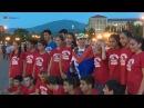 Մարաթոնյան վազքը գերազանցող Թելման Марафонка Тельма Алтун в Арцахе