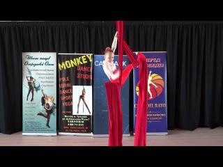 Устимова София 10 лет - Catwalk Dance Fest VIIl [pole dance, aerial] .