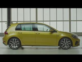 2017 Volkswagen Golf R-Line facelift presentation