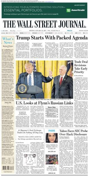 The Wall Street Journal - January 23, 2017 FreeMags