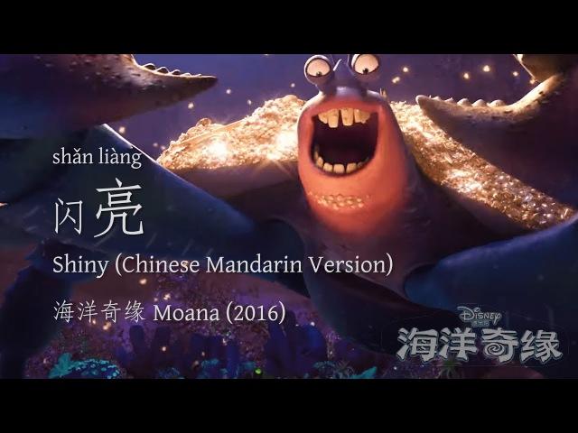 Shiny 闪亮 | Moana 海洋奇缘 (2016) | Chinese Mandarin (Putonghua) Version (ST)