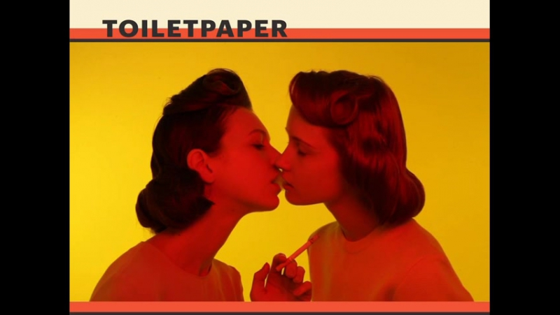 Maurizio Cattelan - Pierpaolo Ferrari Toiletpaper 2 (2011)