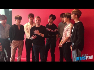 [INTERVIEW] 170523 BTS Sends Their Love To Ariana Grande and The Victims Of The Manchester Bombing @ KIIS FM Live Session (США)