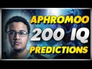 APHROMOO 200 IQ PREDICTIONS Best Plays Montage