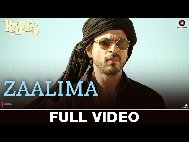 Zaalima Full Video Raees Shah Rukh Khan Mahira Khan Arijit Singh Harshdeep Kaur JAM8