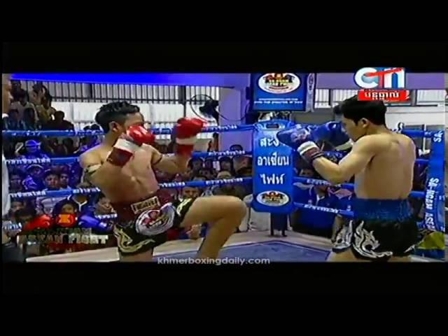 SA NGAM ASEAN Fight Kaosen Laos Vs Sen Radeth Cambodia KO 23 September 2016