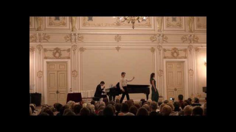 Scena Katarini i Petruchio is operi Schebalina,,Ukroschenie stroptivoy-Maliy sal filarmonii,12.04.17