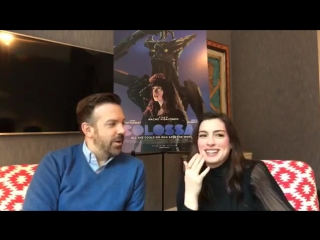 Anne Hathaway and Jason Sudeikis new sci-fi film, Colossal