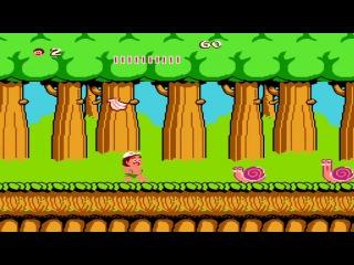 Hudson Adventure Island NES - Прохождение (Остров приключений Dendy, Денди - Walkthrough)