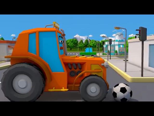 Traktory Prace Na Farmie Bajka Dla Dzieci Przygody Traktor