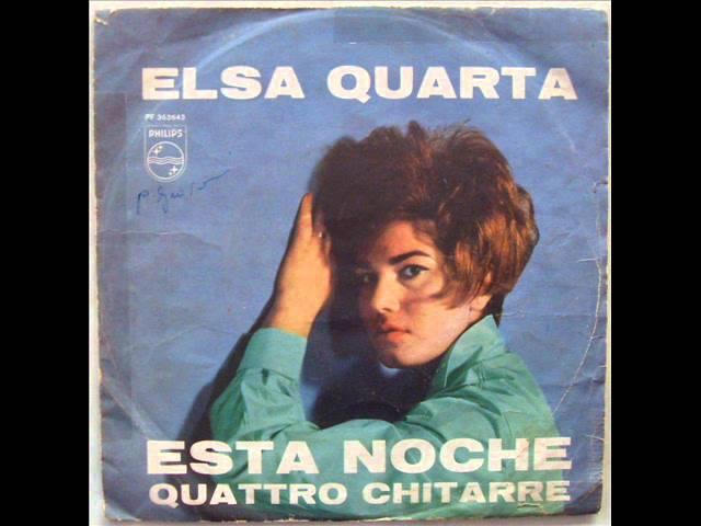 ELSA QUARTA QUATTRO CHITARRE 1962