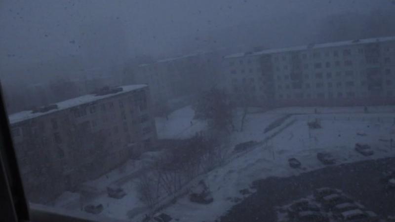 Снегопадные буденки с