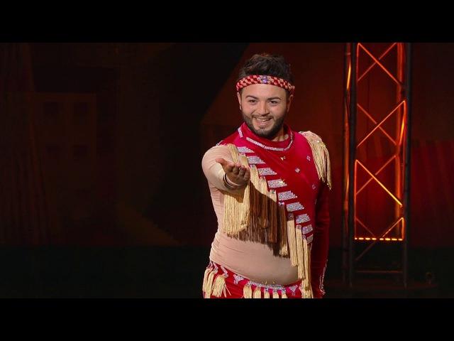 Танцы: Ислам (Табла-лезгинка – Е.Рамазанова) (выпуск 4) из сериала Танцы смотреть ...