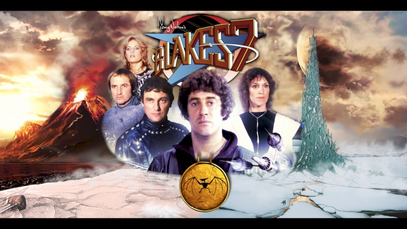 Семёрка Блейка Blake's 7 01 сезон 10 серия 1978 Перевод ДиоНиК