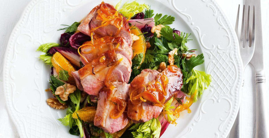 салат из утки рецепты с фото